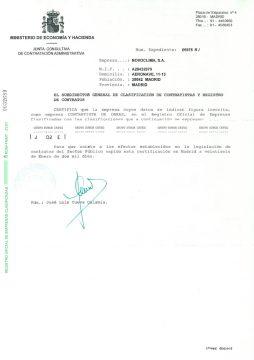 EMPRESA CONTRATISTA DE OBRAS
